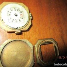Relojes: RELOJ ANTIGUO PLACA DE ORO FALTA RESTAURAR, ROLLED GOLD SUIZA. Lote 28190511