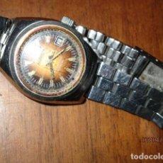 Relojes: ACTIOIN RELOJ ANTIGUO D E CUERDA Y CALENDARIO SEÑORA FUCNIONANDO. Lote 184762930