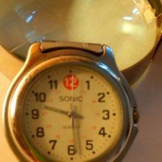 Relojes: RELOJ SONIC DE QUARZT. FUNCIONANDO. PILA NUEVA NBRE 2.019. 38.7 MM. S/C. DESCRIPCION Y FOTOS.. Lote 184826658