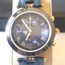 Relojes: RELOJ DAKAR PLATA CHRONOGRAFO, CALENDARIO. COMO NUEVO. Lote 184902768