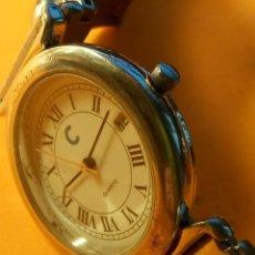 Relojes: RELOJ DE QUARZT - FUNCIONANDO. PILA NUEVA NBRE 2019. TODO ACERO. DESCRIPCION Y FOTOS.. Lote 184904570