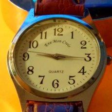 Relojes: RELOJ DE QUARZT - FUNCIONANDO. PILA NUEVA NBRE 2019. 34.6 MM. S/C. DESCRIPCION Y FOTOS.. Lote 184906001