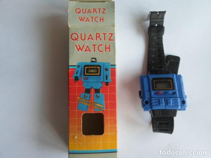 cortesía frio Tropezón  Reloj transformer años 80 - quartz watch- ignor - Sold through Direct Sale  - 185700160
