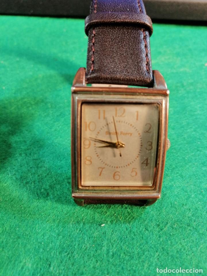 RELOJ DE PULSERA *SMITCH FERRY*STAINLESS STEEL BACK CORREA NUEVA (Relojes - Relojes Actuales - Otros)