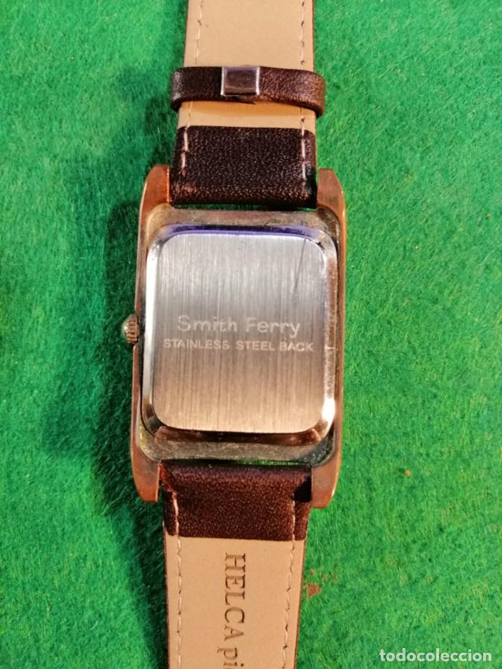 Relojes: RELOJ DE PULSERA *SMITCH FERRY*STAINLESS STEEL BACK CORREA NUEVA - Foto 3 - 185745362