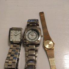 Relojes: LOTE 3 RELOJES. Lote 186251776