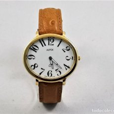 Relojes: ALFEX QUARTZ SWISS MADE 42MM. Lote 186320078