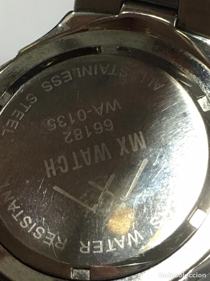 Relojes: Reloj MX Watch 100m en acero completo como nuevo - Foto 6 - 186401541