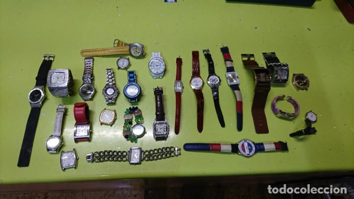 LOTE DE 25 RELOJES VARIOS, SIN PILA, DOGMA, LOTUS, REDSKY Y MAS (Relojes - Relojes Actuales - Otros)