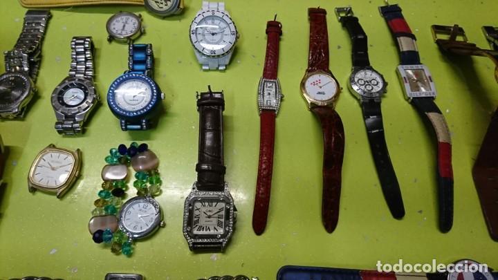 Relojes: LOTE DE 25 RELOJES VARIOS, SIN PILA, DOGMA, LOTUS, REDSKY Y MAS - Foto 3 - 187370596