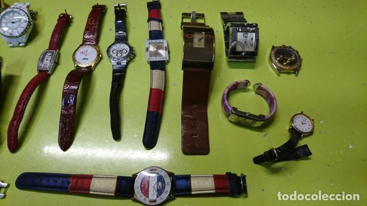Relojes: LOTE DE 25 RELOJES VARIOS, SIN PILA, DOGMA, LOTUS, REDSKY Y MAS - Foto 4 - 187370596