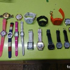 Relojes: LOTE DE 25 RELOJES, SIN PILA, VARIAS MARCAS . Lote 187378993