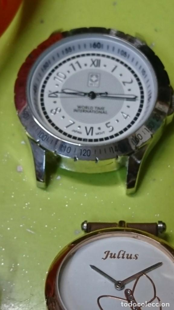 Relojes: LOTE DE 25 RELOJES, SIN PILA, VARIAS MARCAS - Foto 8 - 187378993