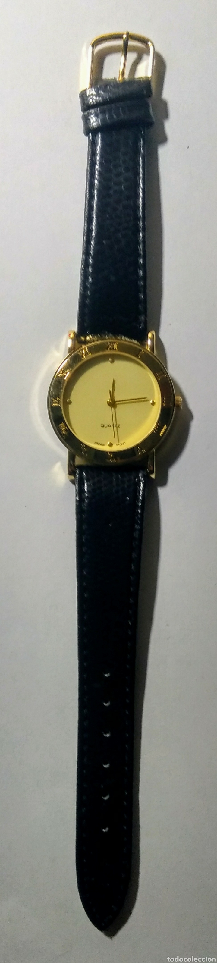 Relojes: Reloj Quartz. Japan Movt. Correa de piel. - Foto 2 - 187543792
