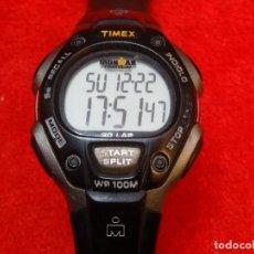 Relojes: TIMEX IRONMAN TRIATHLON 30 LAP 100 M. INDIGLO UNISEX EXCELENTE. Lote 188811253