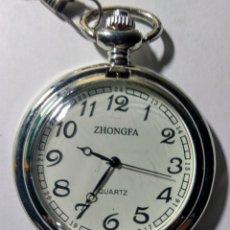 Relojes: RELOJ DE BOLSILLO. ZHONGFA. QUARTZ.. Lote 188832590