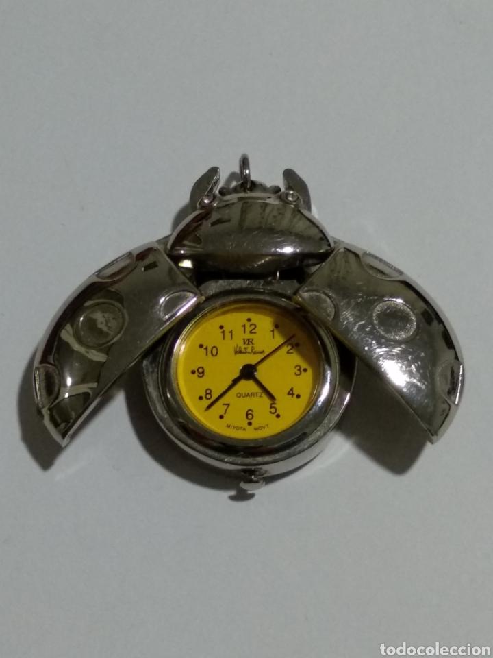 Relojes: RELOJ COLGANTE VALENTIN RAMOS FORMA MARIQUITA - Foto 2 - 189374693