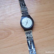 Relojes: RELOJ DE PULSERA. DISEÑO OSCAR MARINE, PARA ANIVERSARIO EL PAIS 2007. Lote 189720202