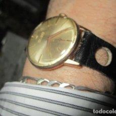Relojes: DUWARD RELOJ ANTIGUO DE CUERDA CABALLERO FUNCIONANDO CHAPADO EN ORO. Lote 189745707