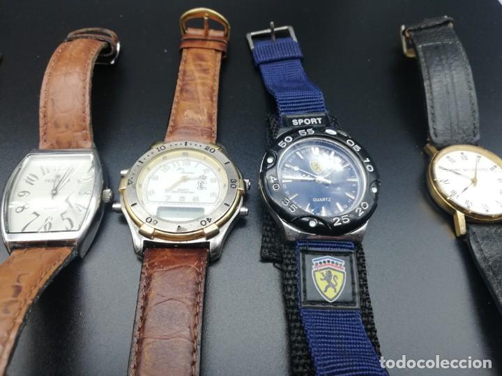 Relojes: LOTE 10 RELOJES FALTA PILA - Foto 4 - 189773973