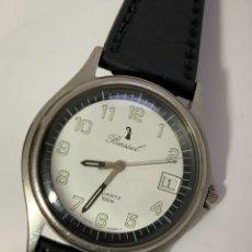 Relojes: RELOJ VINTAGE BASSEL QUARTZ 100M DATE SWISS MADE ACERO INOXIDABLE. Lote 189877453