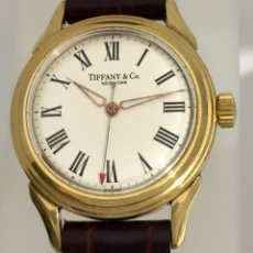 Relojes: TIFFANY&CO PLAQUÈ ORO. Lote 190043721