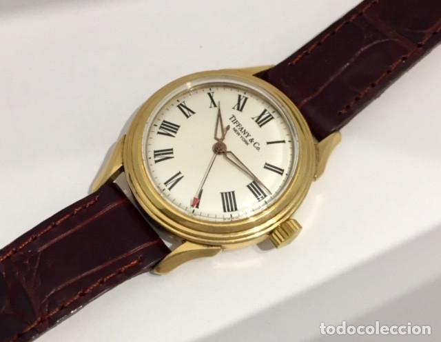 Relojes: TIFFANY&Co PLAQUÈ ORO - Foto 2 - 190043721