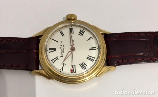 Relojes: TIFFANY&Co PLAQUÈ ORO - Foto 4 - 190043721