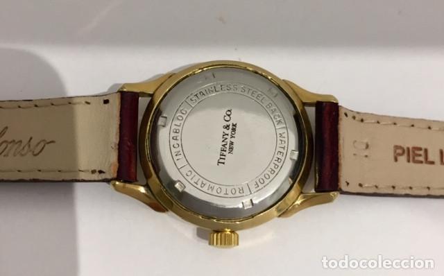 Relojes: TIFFANY&Co PLAQUÈ ORO - Foto 5 - 190043721
