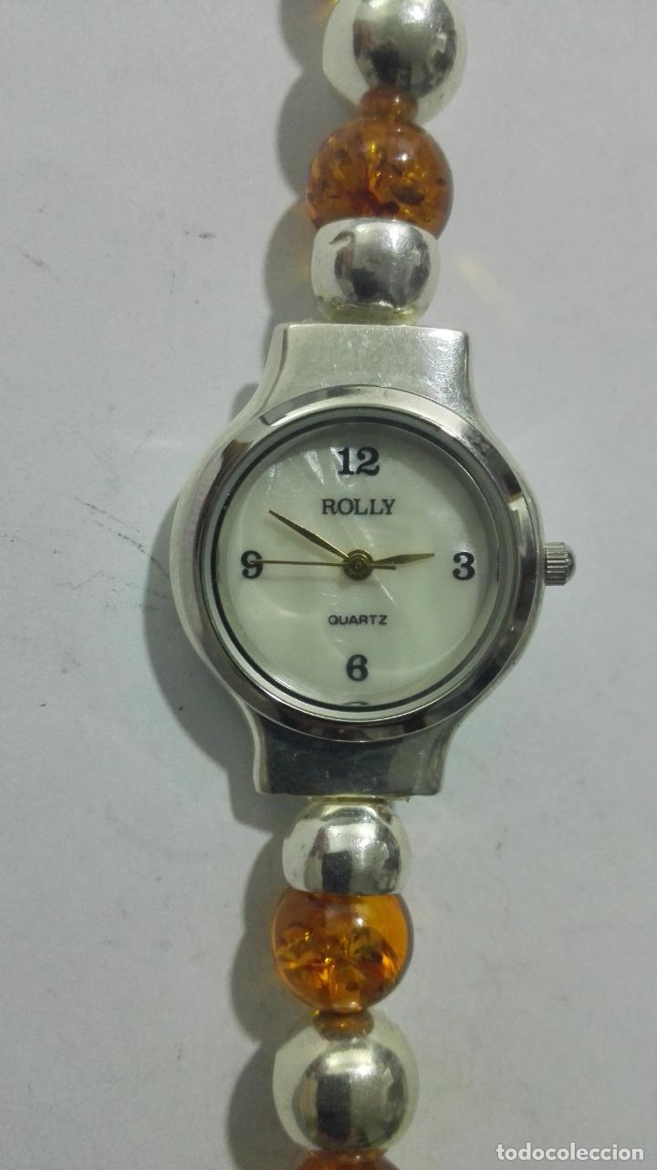 Relojes: RELOJ DE MUÑECA SEÑORA, CAJA Y PULSERA DE PLATA, MEDIDAS 19 CM - Foto 2 - 190437497