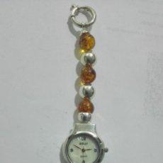 Relojes: RELOJ DE MUÑECA SEÑORA, CAJA Y PULSERA DE PLATA, MEDIDAS 19 CM. Lote 190437497