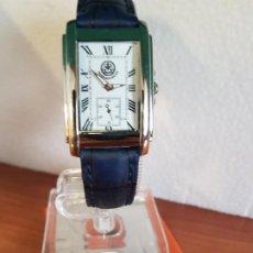 Relojes: RELOJ CABALLERO (VINTAGE) FESTINA EN ACERO DE CUARZO, SEGUNDERO A LAS SEIS, CORREA NEGRA DE CUERO . Lote 190827036