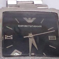 Relojes: RELOJ EMPORIO ARMANI EN ACERO. Lote 190846620