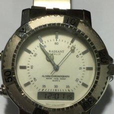 Relojes: RELOJ RADIANT RALLY ANALÓGICO Y DIGITAL ALARM Y CRONO 100M NUEVO EN SU CAJA. Lote 190916173