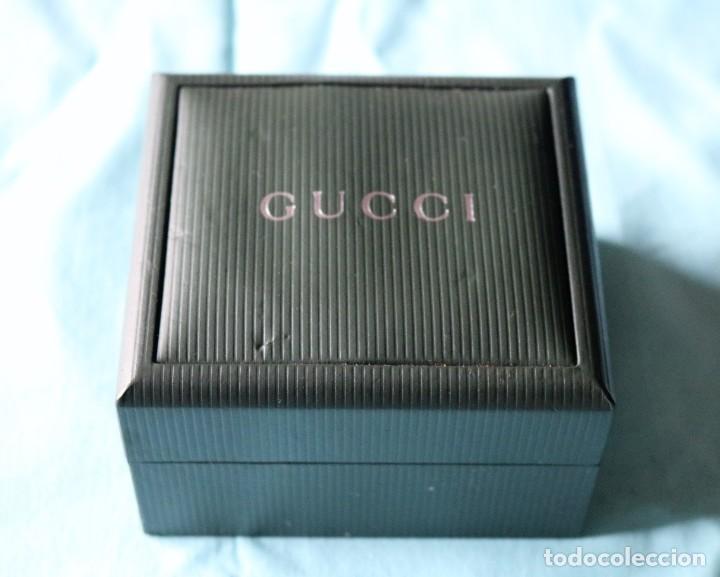 Relojes: Caja de reloj de Gucci, libreta y tarjeta de garantía.Gucci watch box with garanty and leaflet . - Foto 3 - 190999866