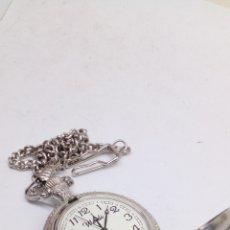 Relojes: RELOJ WEIDI QUARTZ DE BOLSILLO CON LEONTINA. Lote 191036302