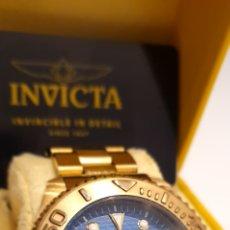 Relojes: RELOJ INVICTA PRO DIVER MAQUINA SWISS CHAPADO EN ORO 18 K ORIGEN USA, COLECCION. Lote 191122713
