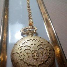 Relojes: RELOJ BOLSILLO DORADO LEY DE LA REINA DEL ORO.. Lote 191192900