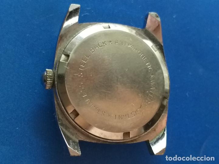Relojes: Reloj antiguo Roya Super de Luxe. Ruby flex antimagnetic. Dwiss movm - Foto 3 - 191375922