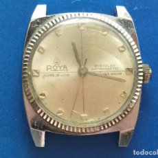 Relojes: RELOJ ANTIGUO ROYA SUPER DE LUXE. RUBY FLEX ANTIMAGNETIC. DWISS MOVM. Lote 191375922