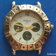 Relojes: RELOJ MARCA SHIKAI. JAPAN. QUARTZ. Lote 191429577