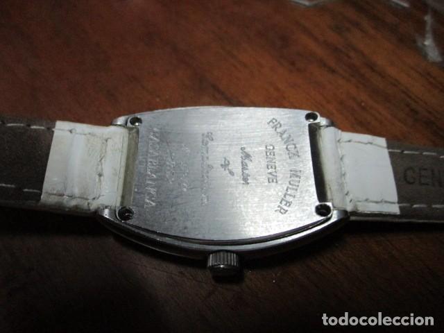 Relojes: RELOJ FRANCK MULLER GENEVE MAster casablanca funciona a pila edicion limitada - Foto 15 - 191553787