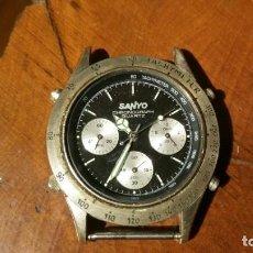 Relojes: RELOJ DE PULSERA SANYO CHRONOGRAPH QUARTZ - PARA RESTAURAR O PIEZAS. Lote 191572768