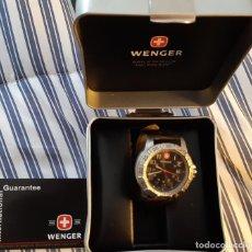 Relojes: WENGER MODEL 7261 X CUARZO CON CORREA PIEL EN CAJA CASI NUEVO. Lote 191611642