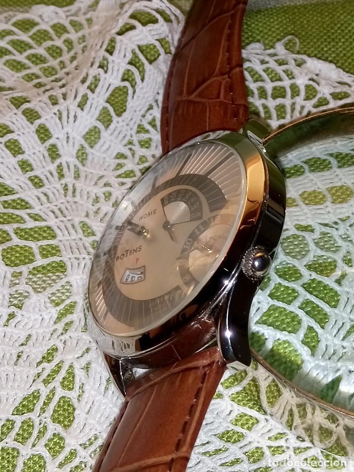Relojes: RELOJ POTENS - QUARZT. FUNCIONANDO. 2 MAQUINAS. 2 BATERIAS NUEVAS. 5 AÑOS. DESCRIPCION Y FOTOS. - Foto 6 - 191672151