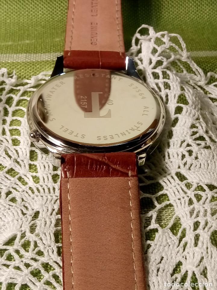 Relojes: RELOJ POTENS - QUARZT. FUNCIONANDO. 2 MAQUINAS. 2 BATERIAS NUEVAS. 5 AÑOS. DESCRIPCION Y FOTOS. - Foto 11 - 191672151