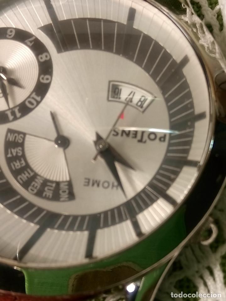 Relojes: RELOJ POTENS - QUARZT. FUNCIONANDO. 2 MAQUINAS. 2 BATERIAS NUEVAS. 5 AÑOS. DESCRIPCION Y FOTOS. - Foto 16 - 191672151