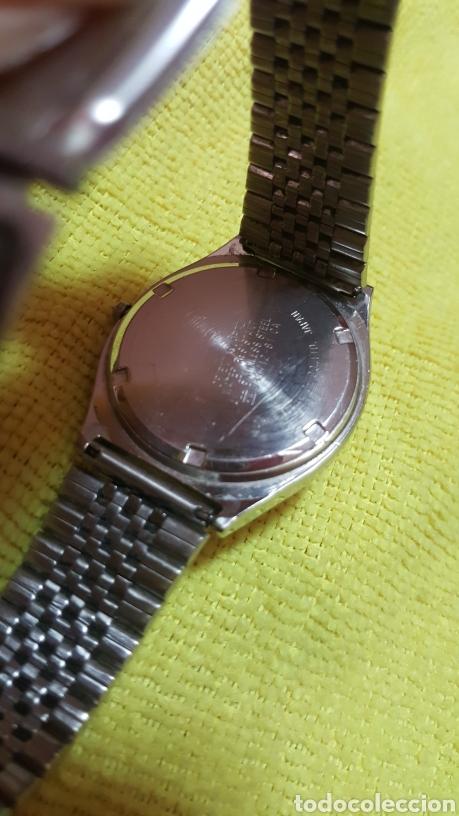 Relojes: Reloj ORIENT DOBLE CALENDARIO CUARZO FUNCIONA PERFECTAMENTE DIÁMETRO 35.5 MILIMETROS - Foto 5 - 191759793