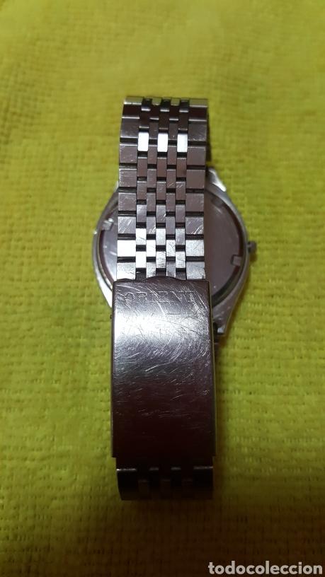 Relojes: Reloj ORIENT DOBLE CALENDARIO CUARZO FUNCIONA PERFECTAMENTE DIÁMETRO 35.5 MILIMETROS - Foto 6 - 191759793