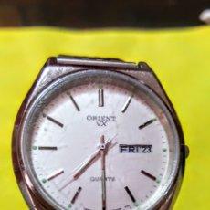 Relojes: RELOJ ORIENT DOBLE CALENDARIO CUARZO FUNCIONA PERFECTAMENTE DIÁMETRO 35.5 MILIMETROS. Lote 191759793